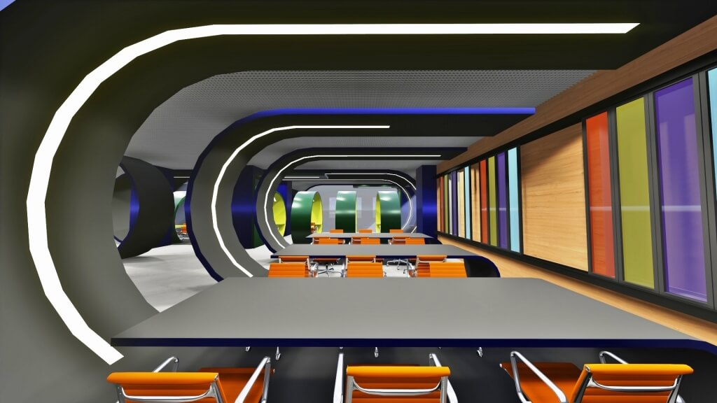 Marmara University Central Library Concept