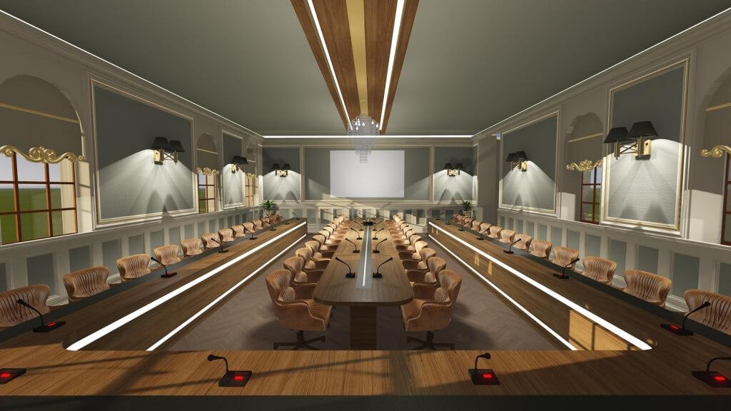 Marmara University Meeting Room