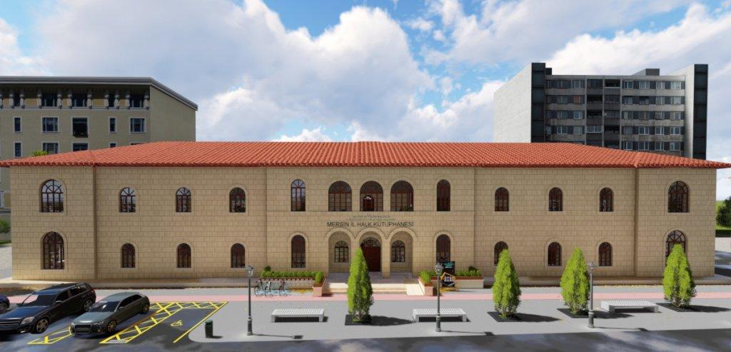 T.C. Kültür ve Turizm Bakanlığı KYGM / Mersin İl Halk Kütüphanesi