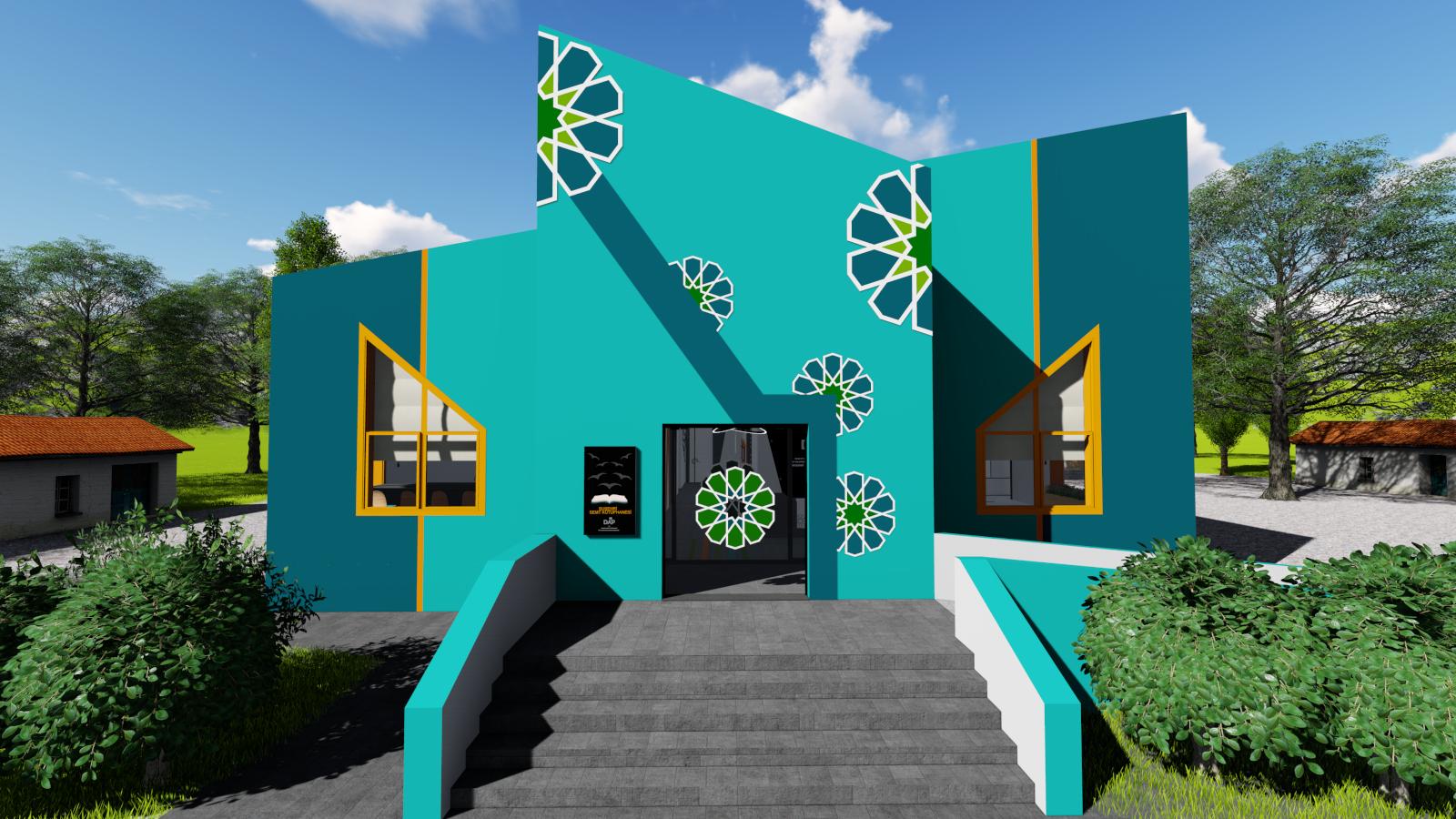 T.C. Sanayi ve Teknoloji Bakanlığı DAP / Sivas Suşehri Semt Kütüphanesi